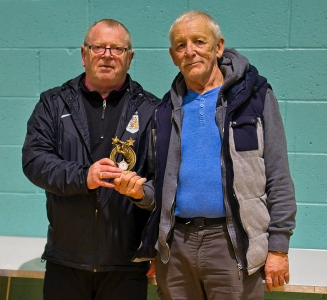 Keith Burrows (Manchester Corinthians) & Ron Blakeley (Rochdale AFC Strollers) Joint Winners Golden Gloves Award.