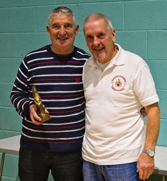 Ray Richards (Chorley FC CT) Winner Golden Boot Award.
