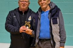 Keith Burrows (Manchester Corinthians) & Ron Blakeley  (Rochdale AFC Strollers) Joint Winners Golden Gloves Award