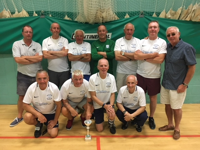 Preston North End Senior Whites Division 3 Winners GMWF Over 60's Spring League 2018