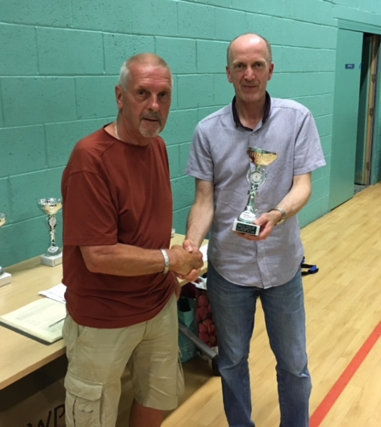 Bury Relics Division 3 Runners Up GMWF Over 60's Spring League 2018
