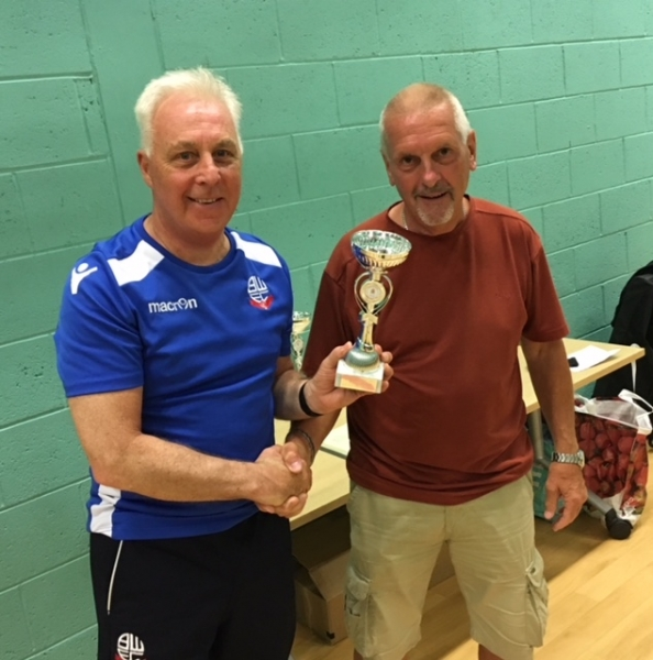 Bolton Wanderers Division 2 Runners Up GMWF Over 60's Spring League 2018