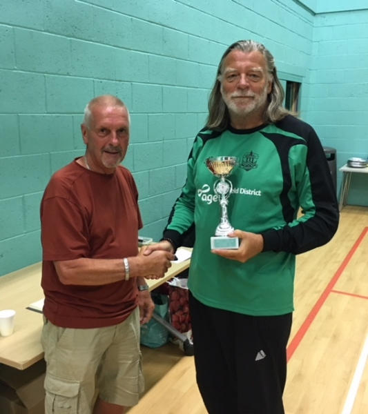 Wakefield Wanderers Division 2 Winners GMWF Over 60's Spring League 2018