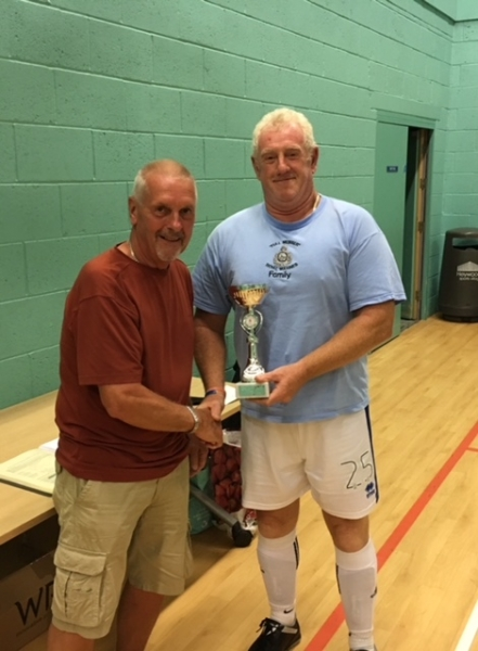 Rochdale AFC Strollers Division 1 Winners GMWF Over 60's Spring League 2018
