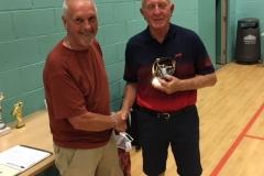 Dave Partington Accepts The Golden Gloves Award On Behalf Of Nash Ambler's Barry Smith
