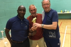 Val Mears (Rochdale AFC Strollers) & Mick Tarpey (Roach Dynamos) Joint Winners Of The Golden Boot