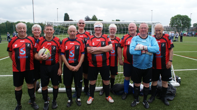 GMWF Over 70's Cup Tournament May 2018 Widnes WFC