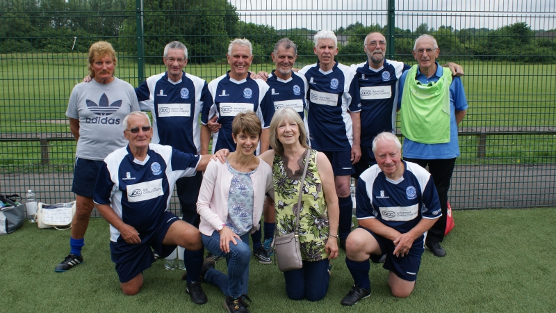 GMWF Over 70's Cup Tournament May 2018 Birmingham WFC