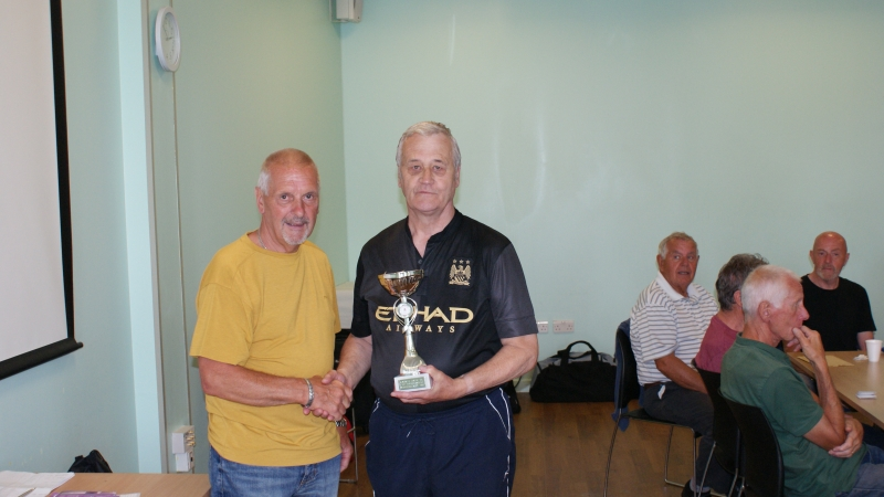 GMWF Over 70's Cup Tournament May 2018 Winners Rochdale Reds