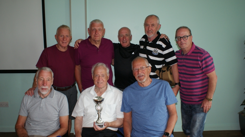 GMWF Over 70's Cup Tournament May 2018 Runners Up Nash Amblers