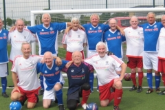 GMWF Over 70's Cup Tournament May 2018 Rochdale Red & Blues