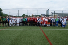 GMWF Over 70's Cup Tournament May 2018 Teams Line Up