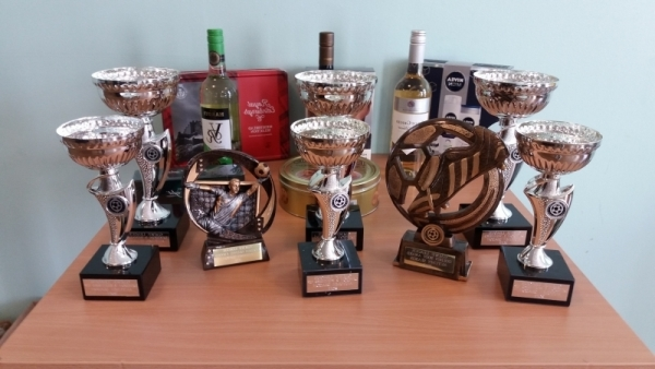 GMWF Autumn League Dec 2017 Presentation Trophies