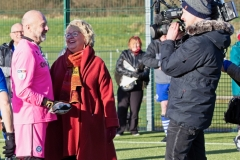 ARD German TV Film Crew Interview Alan Thompson At The Autumn League Dec 2017