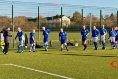 The Rochdale Teams Warm Up Filmed By ARD German TV At The GMWF Autumn League Dec 2017