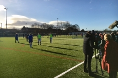 The ARD German TV Film Crew At The Autumn League Dec 2017