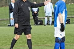 Referee Alan Graham
