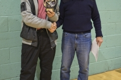 Ron Blakelely Receives The Golden Gloves Award