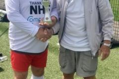 Manchester Corinthians Whites 60s League Trophy Winners