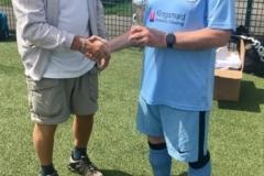 Manchester Senior Citizens 65s League Trophy Winners