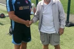 Manchester Senior Citizens 70s League Runners Up