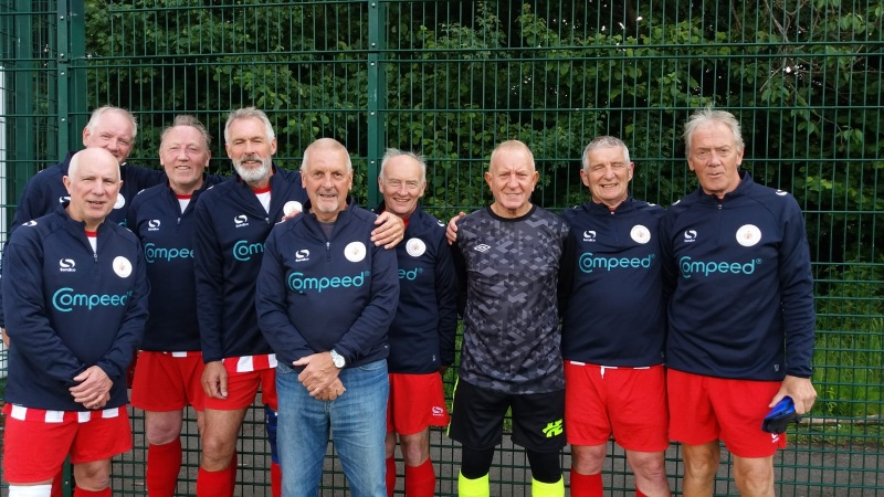 Manchester Corinthians Reds Division 3 Winners GMWFL 60s Spring League 2019