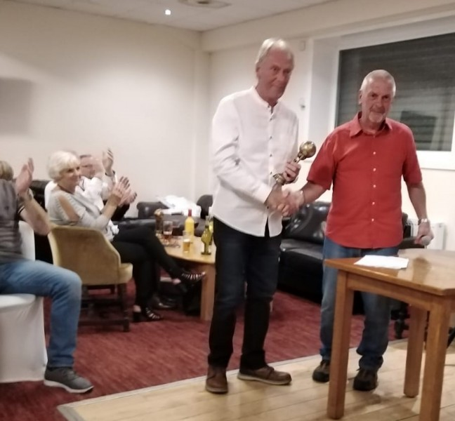 Pete Hampson 65s Managers Player Of The Year 2019