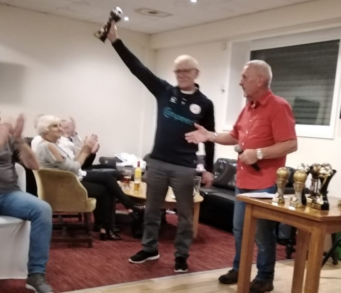Ron Blakeley Clubman Of The Year 2019