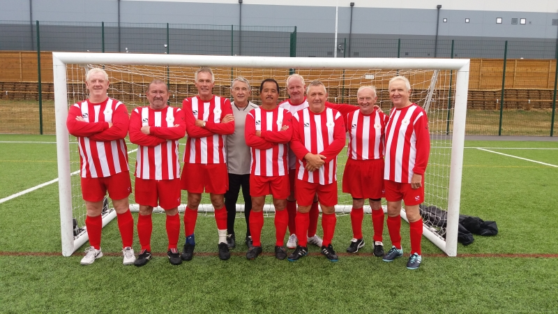 Sheffield Steel City Over 60's Cup Wnners 29.07.18