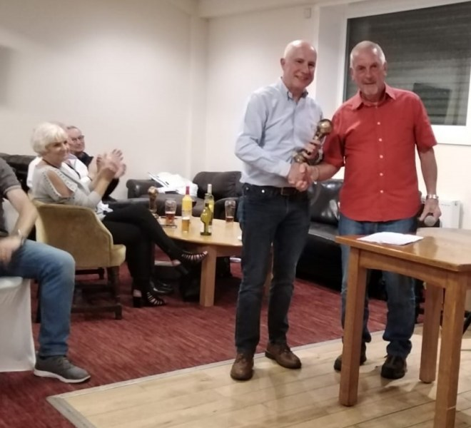 Stuart Greaves 60s Managers Player Of The Year 2019