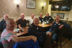 Halifax 55s Tournament Post Tournament Rehydration In the Shears Inn, Paris Gate, Halifax