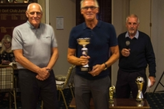 Captain Dave Wilde With The Fleetwood Over 60's WinnersTrophy