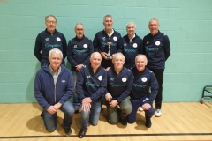 Manchester Corinthians Reds Winners GMWF Over 60s Division 2 Autumn League 2019