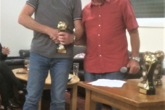 Mick Tarpey 60s Players Player Of The Year 2019