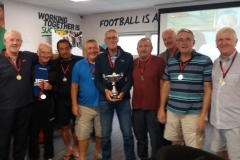 Sheffield Steel City Over 60's Cup 29.07.18 Presentation