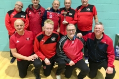 Fleetwood Town Flyers Winners GMWF 65s Division 3 Autumn League 2019