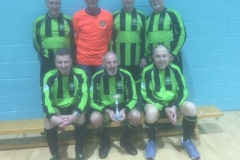 Moston Brook FC Runners Up GMWF 65s Division 3 Autumn League 2019