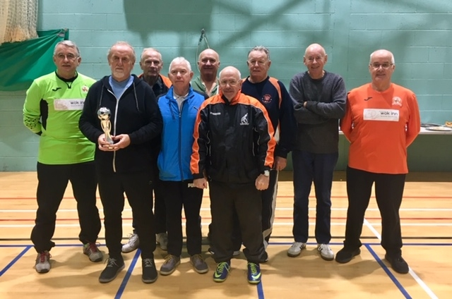 AFC Blackpool Senior Seasiders Winners Over 70's Cup Tournament Autumn 2018