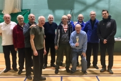 Rochdale AFC Strollers Runners Up Over 70's Cup Tournament Autumn 2018