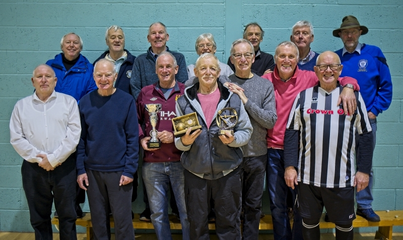Rochdale AFC Strollers & Rochdale Striders GMWF Over 65's League December 2018