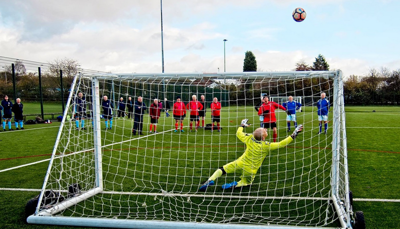 GMWFL Cup Tournament Penalty Shoot Out Rochdale AFC Strollers v Chadderton FC WF, November 2017
