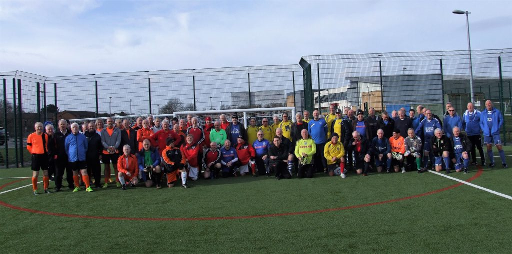 Manchester Walking Football February 2017