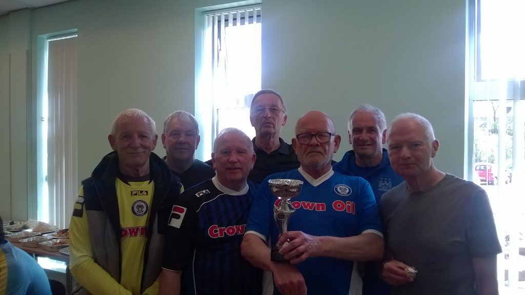 Rochdale Over 65s Cup Tournament 2017
