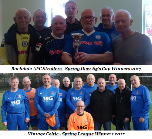 Manchester Walking Football Autumn Season 2017