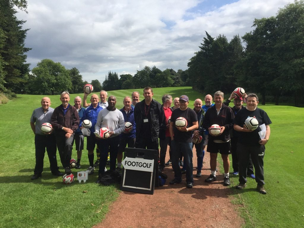 Manchester Walking Football 2018
