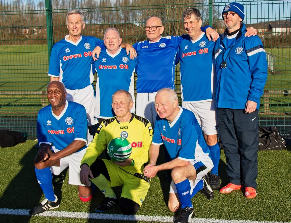 Manchester Walking Football December 2017