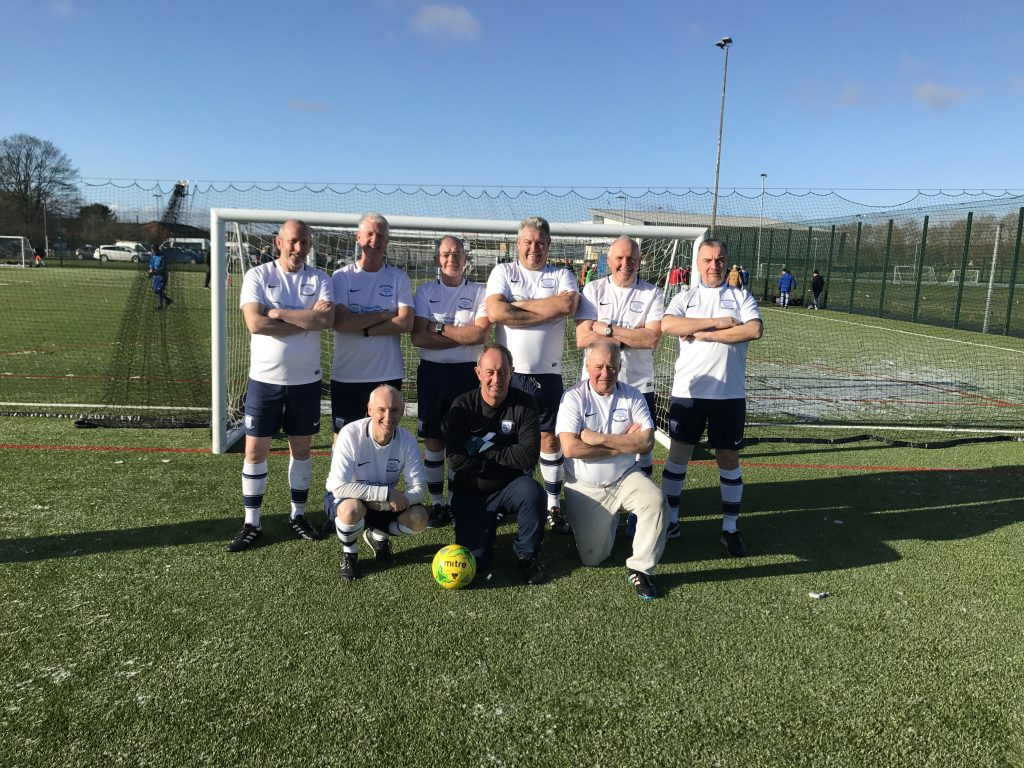 Manchester Walking Football February 2018