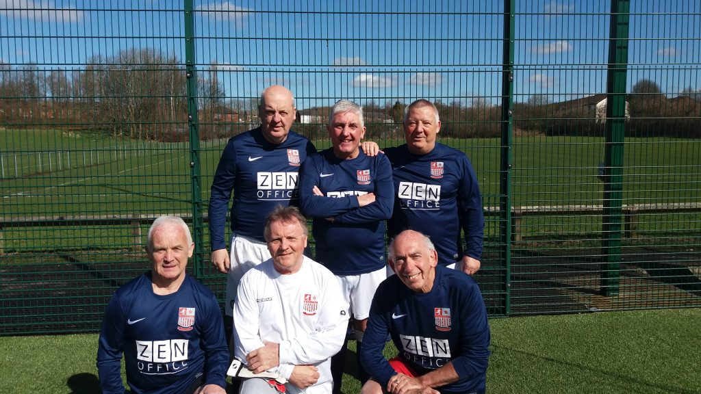 Manchester Walking Football April 2018