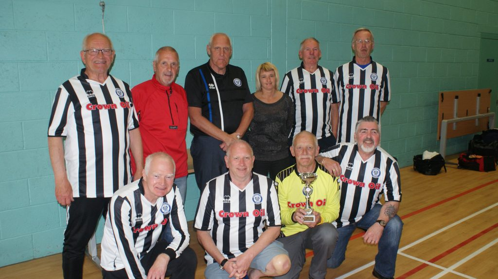 Manchester Walking Football Over 65 May 2018