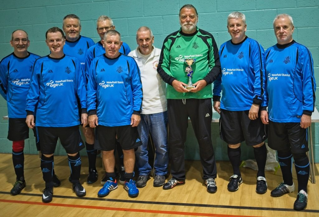 Manchester Walking Football December 2018